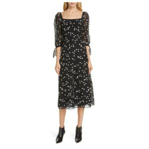 Rebecca Taylor Alessandra Dress - Black, Size 2